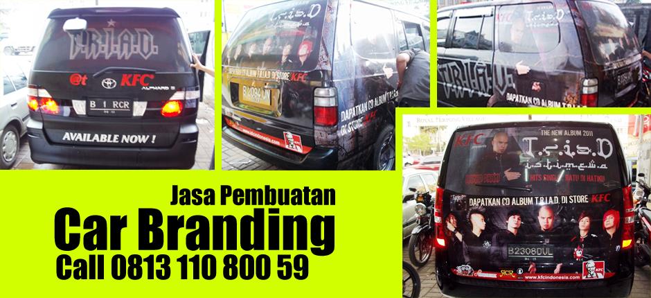 Banner Car Branding